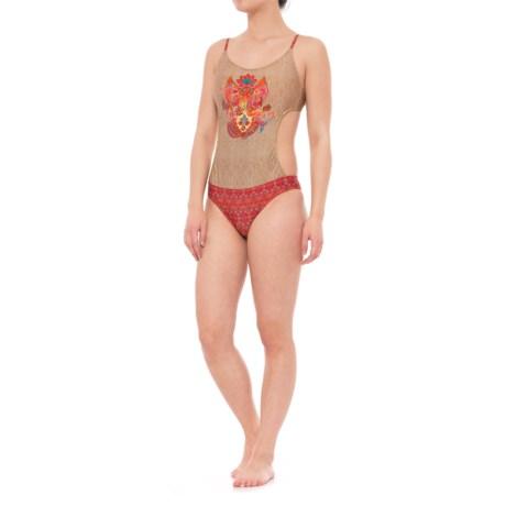 Eco Peace Holi Monica Kini One-Piece Swimsuit (For Women) in Multi