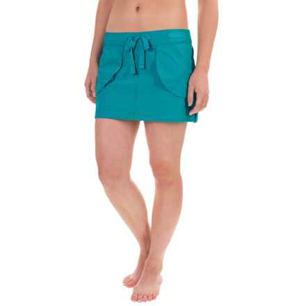 Eco Swim Beach Cover-Up Skirt (For Women) in Surf - Closeouts