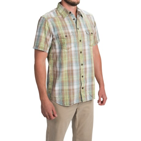Ecoths Bentley Shirt Organic Cotton, Short Sleeve (For Men)