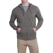 Ecoths Bodhi Full-Zip Hoodie - Organic Cotton (For Men) in Castlerock - Closeouts