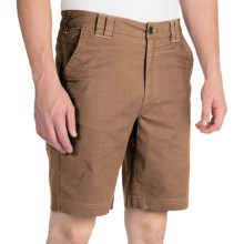 Ecoths Booker Shorts - Organic Cotton (For Men) in Otter - Closeouts