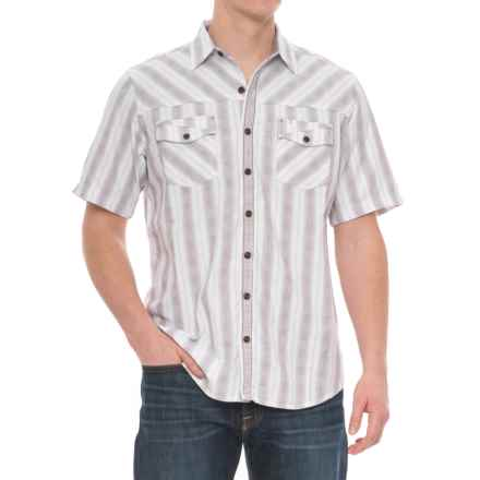 Ecoths Brantley Shirt - Organic Cotton, Short Sleeve (For Men) in White - Closeouts