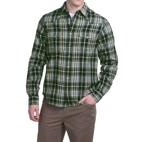 Ecoths Chapman Shirt Organic Cotton, Long Sleeve (For Men)