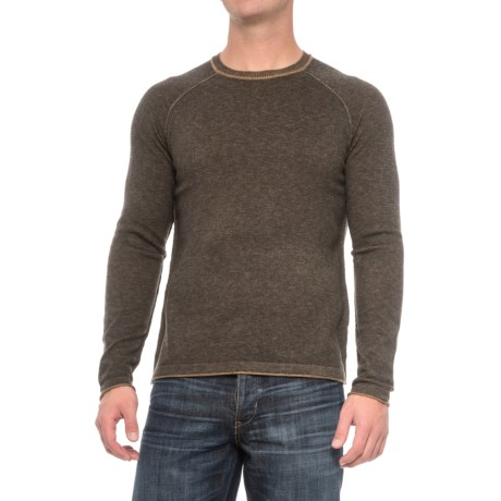 Ecoths Charlie Sweater - Merino Wool (For Men) in Heather Tarmac