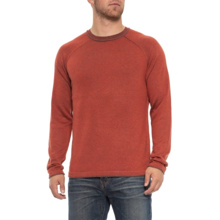 14c47410 Ecoths Charlie Sweater - Merino Wool (For Men) in Tandori Spice - Closeouts