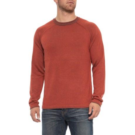 Ecoths Charlie Sweater - Merino Wool (For Men) in Tandori Spice