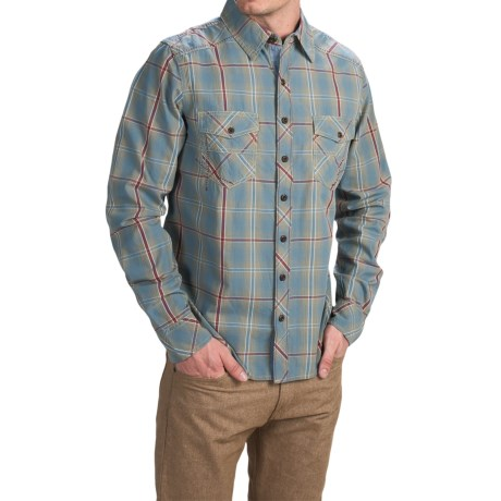 Ecoths Conrad Shirt Organic Cotton Long Sleeve For Men