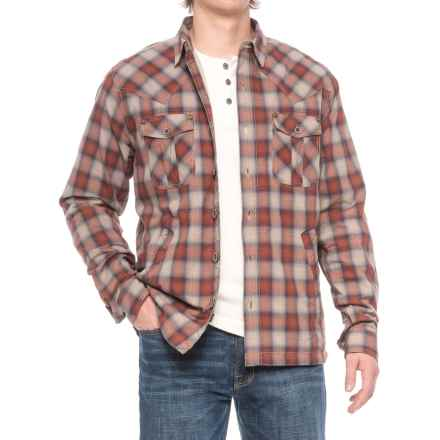 99bb9f49fae1f Ecoths Cooper Shirt Jacket - Organic Cotton (For Men) in Henna - Closeouts