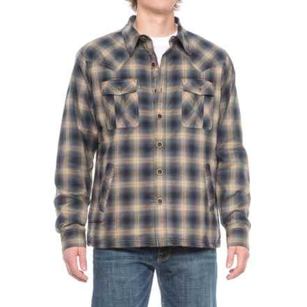 Ecoths Cooper Shirt Jacket - Organic Cotton (For Men) in Mallard - Closeouts