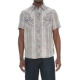 Ecoths Donovan Organic Cotton Plaid Shirt - Snap Front, Short Sleeve (For Men)
