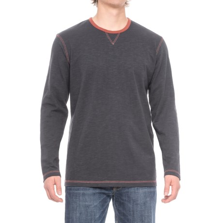 Ecoths Ezra Shirt - Organic Cotton, Long Sleeve (For Men) in Ombre Blue