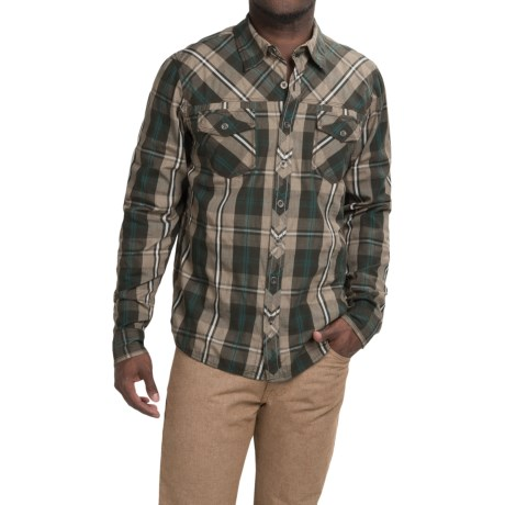 Ecoths Garfield Shirt Organic Cotton, Long Sleeve (For Men)