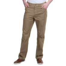 Ecoths Grady Pants - Organic Cotton (For Men) in Dark Khaki - Closeouts