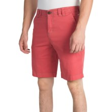 Ecoths Kenzo Shorts - Organic Cotton (For Men) in Mineral Red - Closeouts