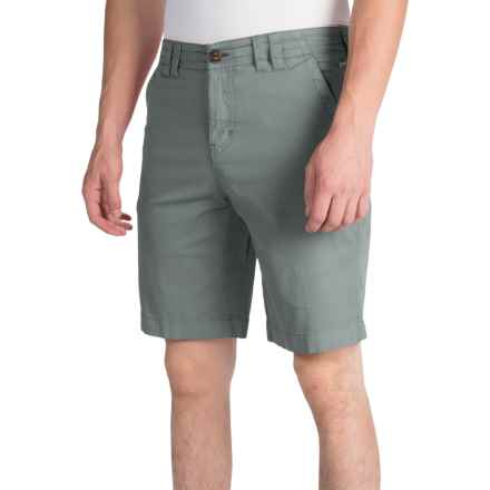 Ecoths Kenzo Shorts - Organic Cotton (For Men) in Silver Blue - Closeouts