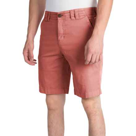 Ecoths Kenzo Shorts - Organic Cotton (For Men) in Tabasco - Closeouts