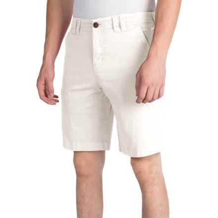 Ecoths Kenzo Shorts - Organic Cotton (For Men) in White - Closeouts