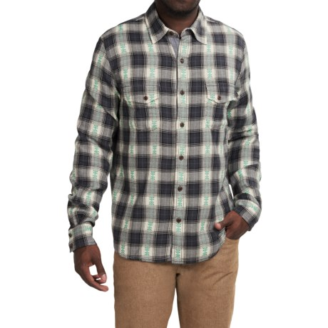 Ecoths Kolten Shirt Organic Cotton, Long Sleeve (For Men)