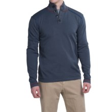 Ecoths Maddox Sweater - Organic Cotton (For Men) in Castlerock - Closeouts