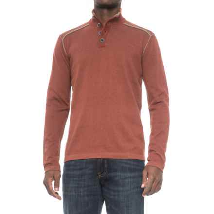 Ecoths Maddox Sweater - Organic Cotton (For Men) in Henna - Closeouts