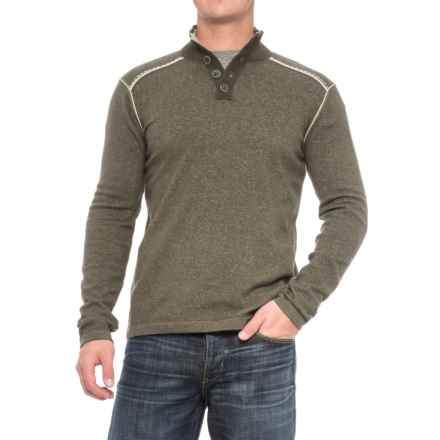 Ecoths Maddox Sweater - Organic Cotton (For Men) in Tarmac - Closeouts