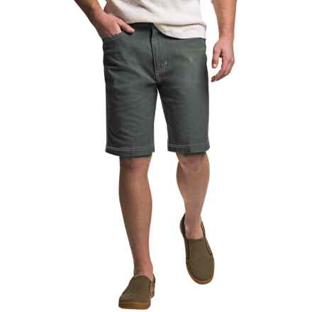 Ecoths Miller Flat-Front Shorts - Organic Cotton (For Men) in Ash - Closeouts