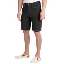 Ecoths Odin Shorts - Organic Cotton (For Men) in Phantom - Closeouts