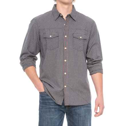 Ecoths Rocco Shirt - Organic Cotton, Long Sleeve (For Men) in Ash - Closeouts