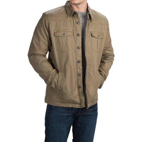 Ecoths Ryker Jacket Organic Cotton, Button Front (For Men)