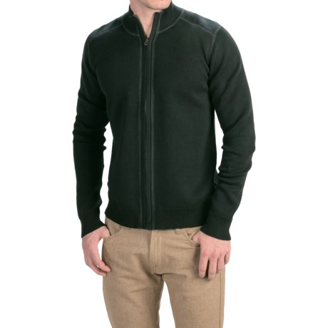 Ecoths Salinger Reversible Sweater Organic Cotton, Full Zip (For Men)