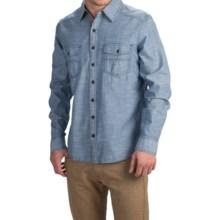 Ecoths Soren Shirt - Organic Cotton, Long Sleeve (For Men) in Ensign Blue - Closeouts