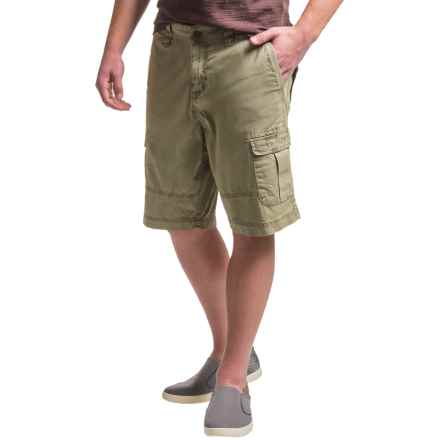 Ecoths Titan Cargo Shorts (For Men) in Gravel - Closeouts