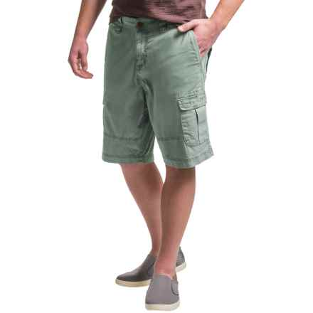 Ecoths Titan Cargo Shorts (For Men) in Silver Blue - Closeouts
