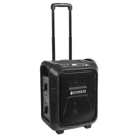 EcoXgear EcoBoulder Speaker - Waterproof in Black
