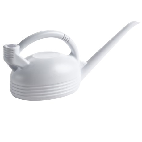 EDA Plastique No-Spill Watering Can - 3-Liter in White