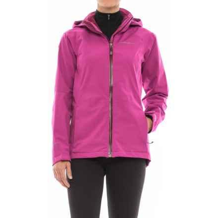 Eddie Bauer All-Mountain Shell Jacket - Waterproof (For Women) in Fuschia - Closeouts