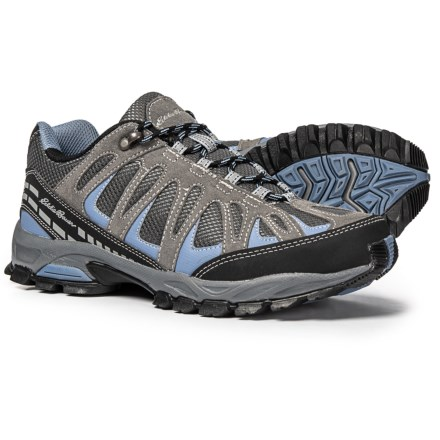 7cf1d7dcb854 Eddie Bauer Bailey Hiking Shoes (For Women) in Grey Black
