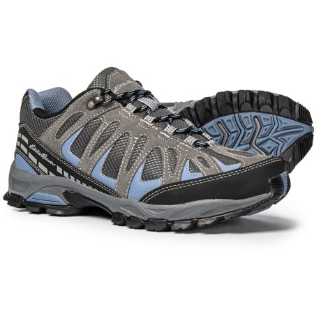 283652057f08 Eddie Bauer Bailey Hiking Shoes (For Women) in Grey Black