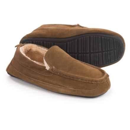Eddie Bauer Jesse Slippers - Suede (For Men) in Tan - Closeouts