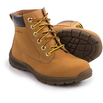 Eddie Bauer Wander Boots - Waterproof (For Big Boys) in Wheat - Closeouts