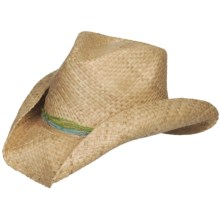 Eddy Bros. by Bailey Bethany Cowboy Hat - Raffia Straw, Pinch Crown (For Women) in Natural - Closeouts