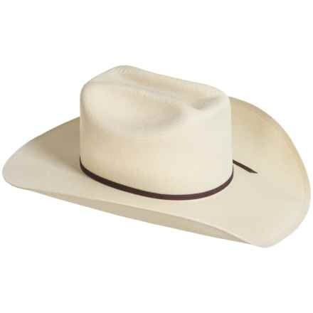 Eddy Bros. by Bailey Hank Straw Cowboy Hat (For Men and Women) in Natural - Closeouts