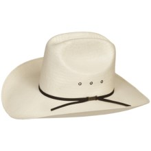 Eddy Bros. by Bailey Winner Cowboy Hat - 10X Woven Paper, Cattleman Crown (For Men and Women) in Ivory - Closeouts