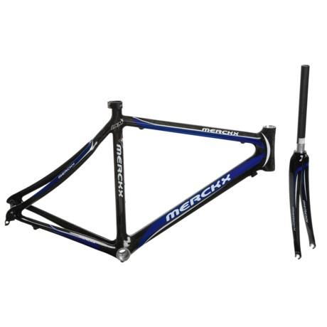 Eddy Merckx LXM Carbon Road Bike Frame in Red