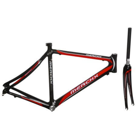 Eddy Merckx LXM Carbon Road Bike Frame in Red