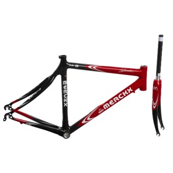 Eddy Merckx SXM Carbon Road Bike Frame in Red