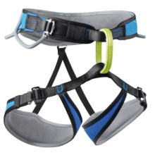 Edelrid Apex 3-Buckle Climbing Harness in Royal - Closeouts