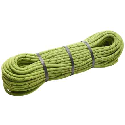 Edelrid Boa Duotec Bi-Color Climbing Rope - 9.8mm, 60m in Oasis - Closeouts