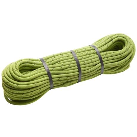 Edelrid Boa Duotec Bi-Color Climbing Rope - 9.8mm, 60m in Oasis