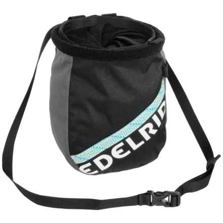 Edelrid Cosmic Twist Chalk Bag in Slate - Closeouts